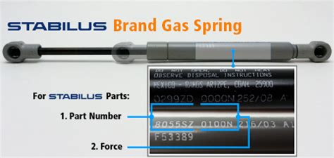 stabilus lift o mat part numbers stabilus gas sizing tool compression springs