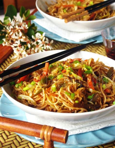 hakka cuisine recipes hakka noodles ecurry the recipe