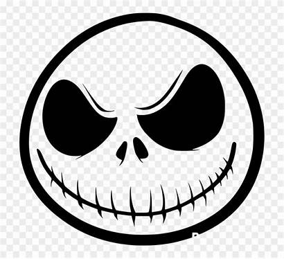 Skellington Nightmare Jack Before Christmas Clipart Face