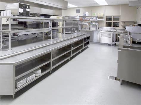 Commercial Kitchen Flooring  Antislip Commercial Kitchen