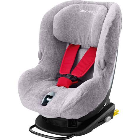 housse siège auto axiss bébé confort housse eponge pour siège auto milofix cool grey de bebe