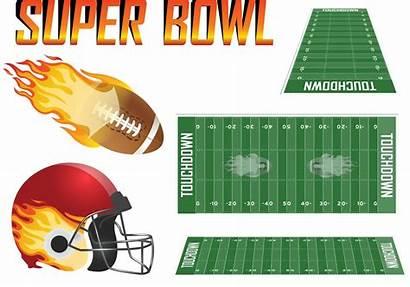 Bowl Super Vector Football Superbowl Bowls American