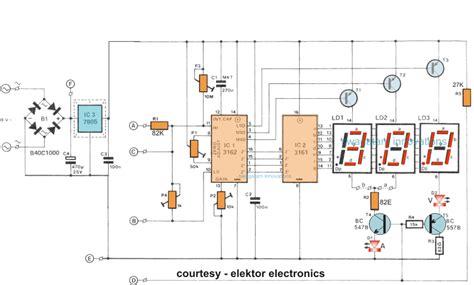 How Make Digital Voltmeter Ammeter Module Circuits