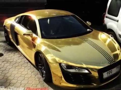 expensive cars gold world top 10 most expensive gold cars youtube