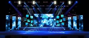 Stage LED Display led stage background stage led video