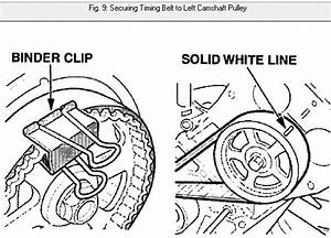 I Need Timing Belt Installation Instructions For A 2001 3