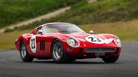 1962 Ferrari 250 Gto Sells For Record-breaking .4