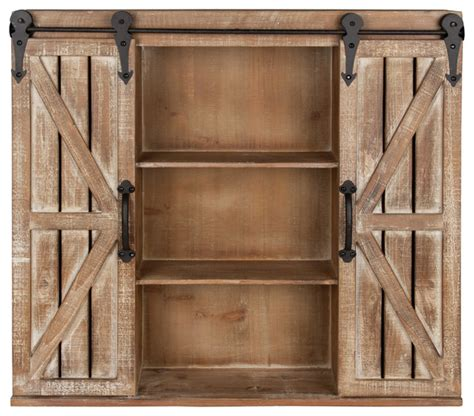 farmhouse sliding door cabinet laurel cates rustic wall cabinet with sliding barn doors