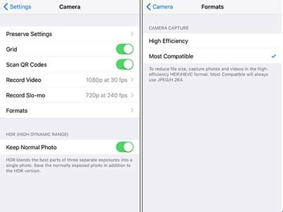 what format does iphone use collnet how to make your iphone use jpg and mp4 instead 3313