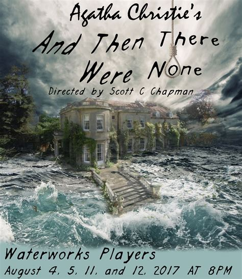 Auditions for And Then There Were None | Waterworks Players