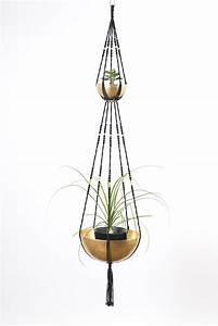 Suspension Plante Interieur : suspension plantes macram 2 tages bymadjo 017 ganesh d co ~ Preciouscoupons.com Idées de Décoration