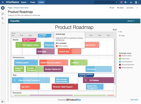 confluence crm template productplan for confluence cloud atlassian marketplace