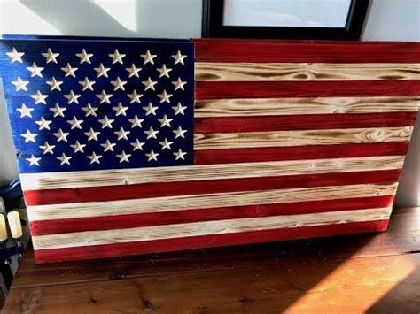 rustic wood american flag youtube american flag wood