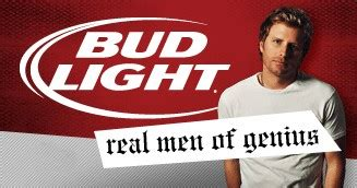 Bud Light Real Of Genius by Dierks Bentley Mr Sad Country Song Songwriter The