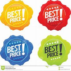 Glossy Best Price Icons Stock Vector Illustration Of Cool