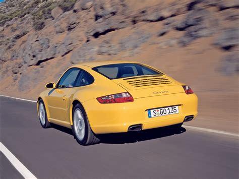 2005 Porsche 911 Carrera Rear Angle Speed 1024x768