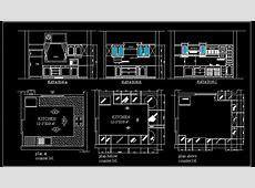 U Shape Modular Kitchen Design Detail Plan n Design