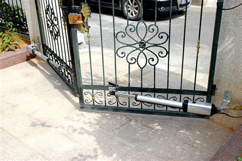 kg double swing auto motor gate opener  solar diy