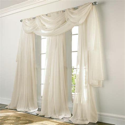 elegance voile beige sheer curtain bedbathhome