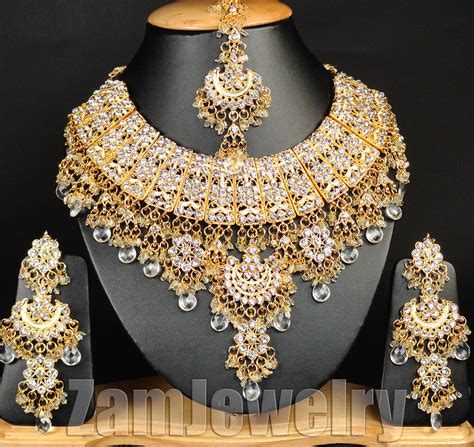 fashion edh designer bollywood gold plated jewelry indian