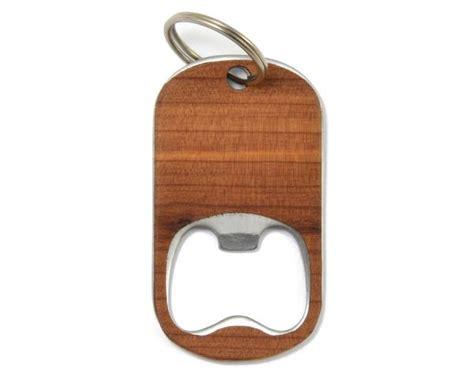 custom wood bottle opener keychain american handcrafted autumn summer co