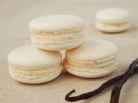 macarons  la vanille