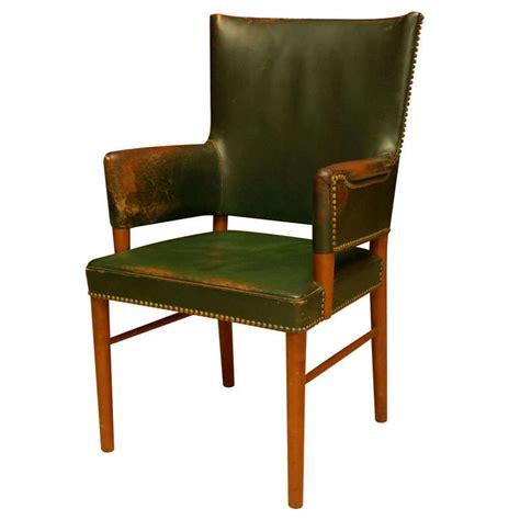 Green Leather Armchair by Green Leather Armchair At 1stdibs