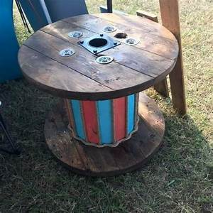 Wire Spool End Tables