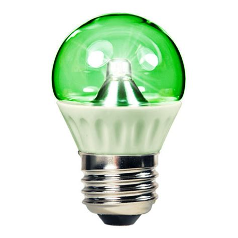 1 3w led light bulb green 50 lumens 15w equal