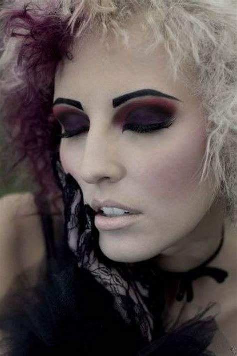 gothic makeup  mixing violent  black gothic