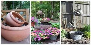 15, Diy, Outdoor, Fountain, Ideas