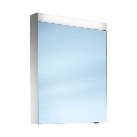 Badezimmer Spiegelschrank Led by Schneider Pataline 1 Door Led Mirror Cabinet 600mm