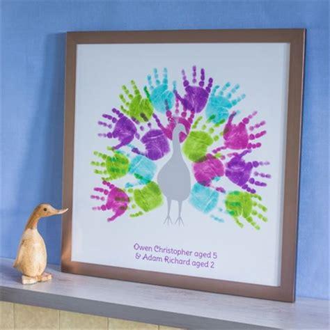 Family Handprint Wall Art Ideas