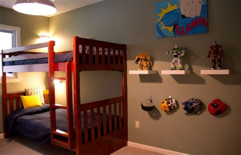 18 astounding superhero themed kids room designs that