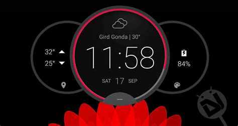widget clock android widgets analog apps circle moto screen root install without droidviews center core