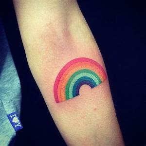 Rainbow Tattoos Designs, Ideas and Meaning | Tattoos For You