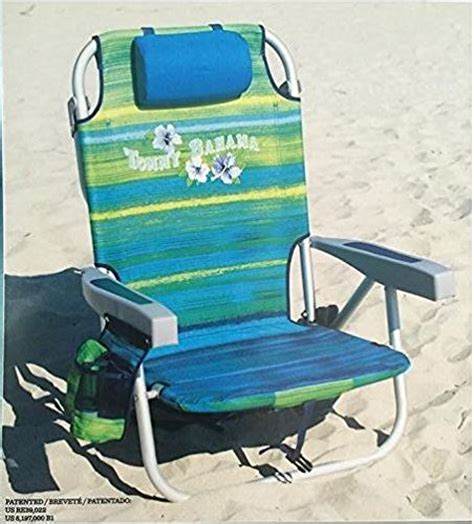 Bahama Backpack Cooler Chair Blue Stripe by Galleon Bahama 2016 Backpack Cooler Chair With