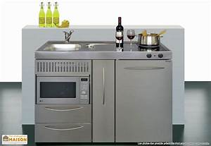 Cuisine Pour Studio : mini cuisine compacte good mini cuisine compacte cuisine ~ Premium-room.com Idées de Décoration