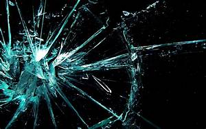 Broken glass shattered crack abstract window bokeh pattern ...