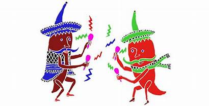 Chiles Mexico Bailando Gifs Animated Stuff Mexicanos