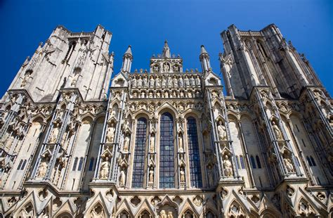 west front wells cathedral somerset guide