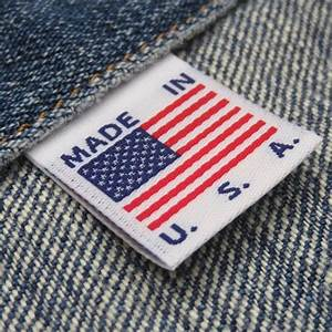 made in usa flag clothing labels white cruz label store With clothing labels usa