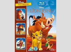 Le Roi Lion 1 à 3 Bluray frzavvi