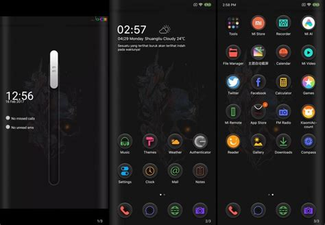 Miui themes collection with official theme store link. Tema Untuk Miui 12 : Update Miui V9 Theme Ios 11 Mtz Touch ...