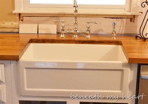 Home Depot Canada Farmhouse Sink by Diy Ing Our Basic Brick Ranch Into The Cottage Of Our