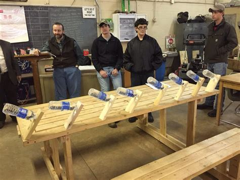 great  woodworking project  st year students