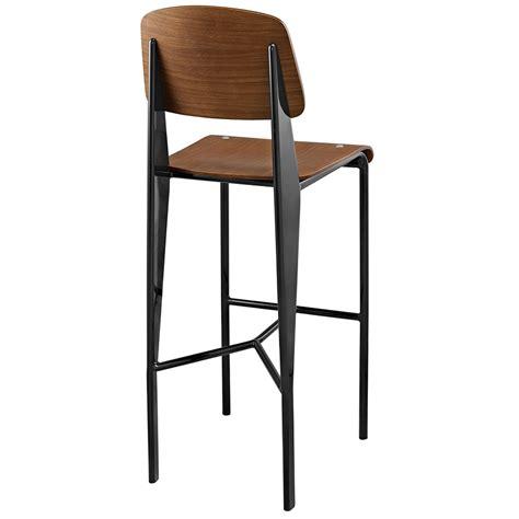 walnut counter stools cornwall modern walnut bar stool eurway furniture 3337