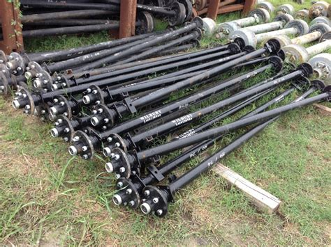 Boat Trailer Axle Repair by Trailer Axles Axles For Boat And Utility Trailers At