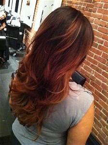 Ombré Hair Auburn : best 25 red peekaboo highlights ideas on pinterest plum hair colour plum hair highlights and ~ Dode.kayakingforconservation.com Idées de Décoration