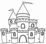 Castle Coloring Pages Printable Cool2bkids sketch template